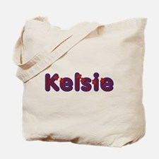 Kelsie Red Caps Tote Bag