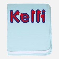 Kelli Red Caps baby blanket