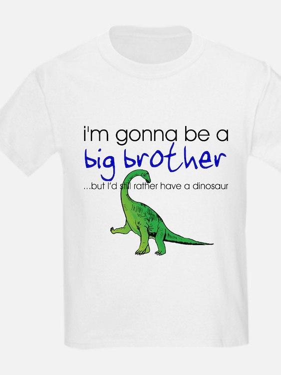 Gonna be big brother (dinosaur) Kids T-Shirt