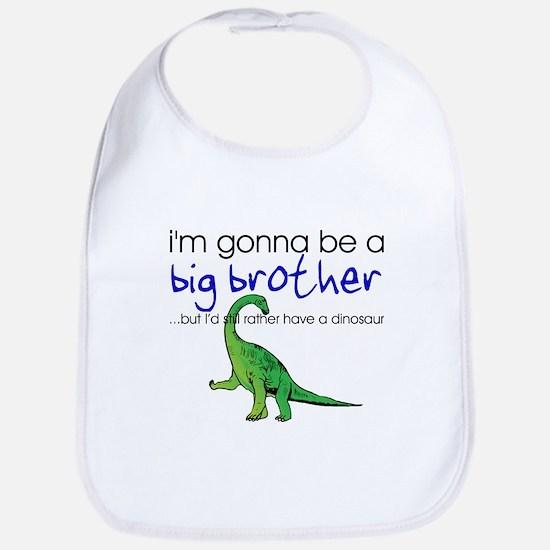 Gonna be big brother (dinosaur) Bib
