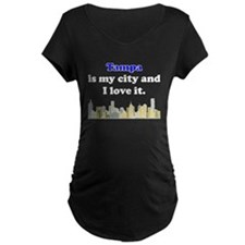 Tampa Is My City And I Love It Maternity T-Shirt