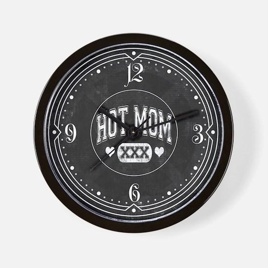 Hot Mom Wall Clock