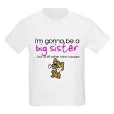 Gonna be big sister (puppy) Kids T-Shirt