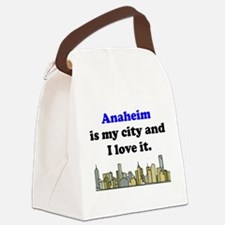 Anaheim Is My City And I Love It Canvas Lunch Bag