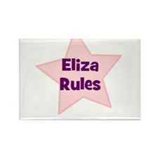 Eliza Rules Rectangle Magnet