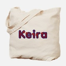 Keira Red Caps Tote Bag
