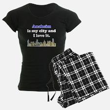 Anaheim Is My City And I Love It Pajamas