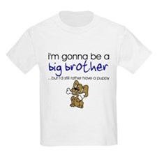 Gonna be big brother (puppy) Kids T-Shirt