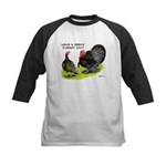 Turkey Day Kids Baseball Jersey