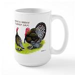 Turkey Day Large Mug