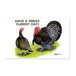 Turkey Day Mini Poster Print