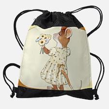 LittleGirlMouseCalenday.png Drawstring Bag