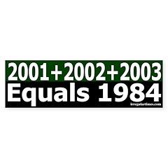 Ashcroft Arithmetic Bumper Sticker