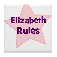 Elizabeth Rules Tile Coaster