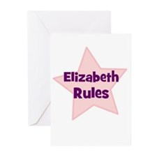 Elizabeth Rules Greeting Cards (Pk of 10)