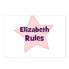 Elizabeth Rules Postcards (Package of 8)