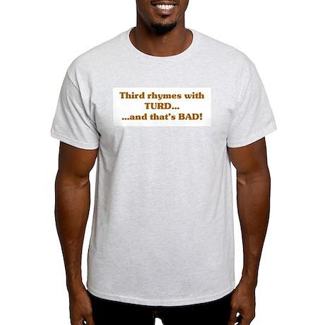 The Wisdom of T Ash Grey T-Shirt