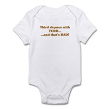 The Wisdom of T Infant Bodysuit