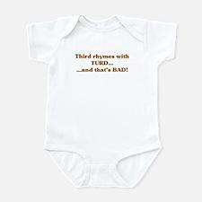The Wisdom of T Infant Bodysuit
