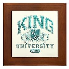 King Last name University Class of 2013 Framed Til