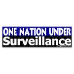One Nation Under Surveillance (sticker)