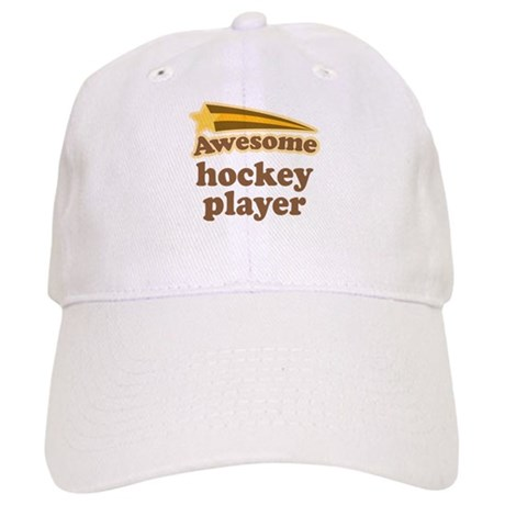 Awesome Hockey Player Cap
