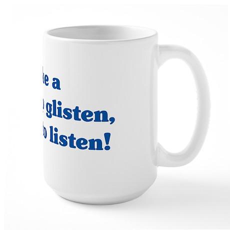 The Wisdom of T Large Mug