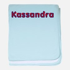 Kassandra Red Caps baby blanket