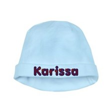 Karissa Red Caps baby hat