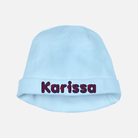Karissa Red Caps baby hat