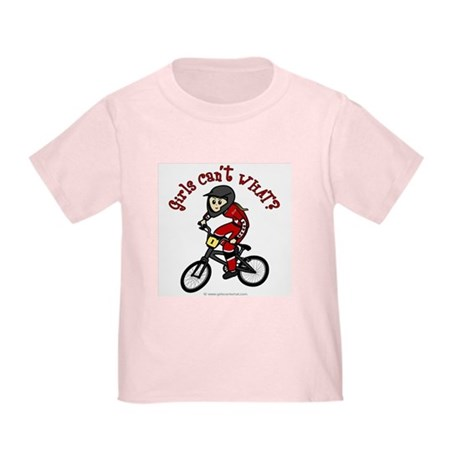 (light) Dirt Diva BMX Toddler T-Shirt