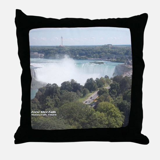 Horseshoe Falls, Niagara Falls Throw Pillow