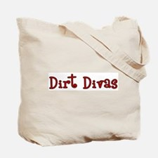 (light) Dirt Diva BMX Tote Bag