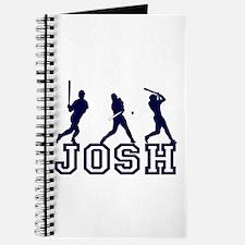Baseball Josh Personalized Journal