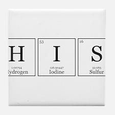 Unique Elements Tile Coaster