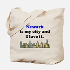 Newark Is My City And I Love It Tote Bag