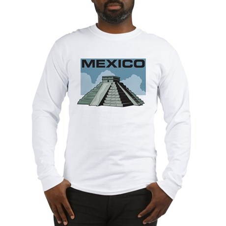 Mexico Pyramid Long Sleeve T-Shirt