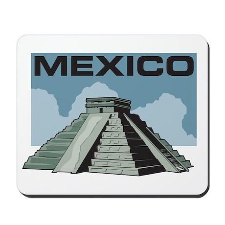 Mexico Pyramid Mousepad