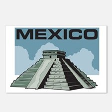 Mexico Pyramid Postcards (Package of 8)