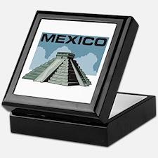 Mexico Pyramid Keepsake Box