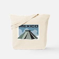 Mexico Pyramid Tote Bag