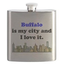 Buffalo Is My City And I Love It Flask