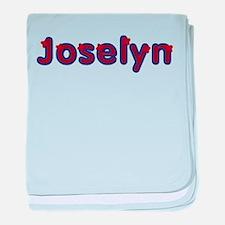 Joselyn Red Caps baby blanket