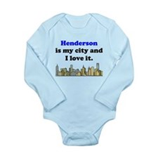 Henderson Is My City And I Love It Body Suit
