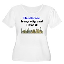 Henderson Is My City And I Love It Plus Size T-Shi