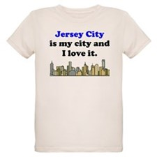 Jersey City Is My City And I Love It T-Shirt