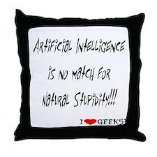 AI Throw Pillow