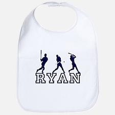 Baseball Ryan Personalized Bib