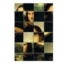 MONA LISA Postcards (Package of 8)