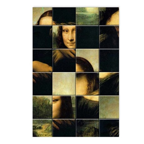 MONA LISA Postcards (Package of 8)